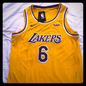 Lebron James Lakers Jersey #6
